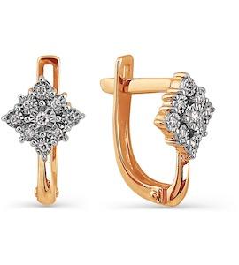 Серьги с бриллиантами Т145624305