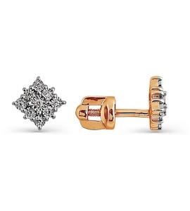 Серьги с бриллиантами Т145624306