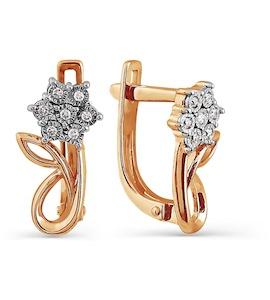 Серьги с бриллиантами Т145624313