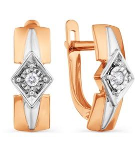 Серьги с бриллиантами Т145628837