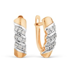 Серьги с бриллиантами Т145629093