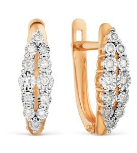 Серьги с бриллиантами Т145629096
