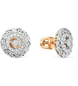 Серьги с бриллиантами Т145629628