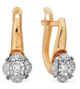 Серьги с бриллиантами Т145629766