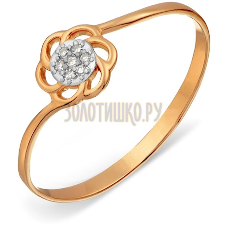 Кольцо с бриллиантами Т146017600