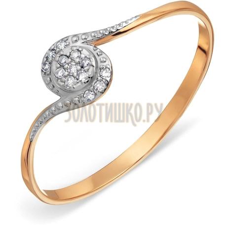 Кольцо с бриллиантами Т146017605