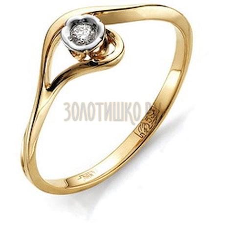 Кольцо с бриллиантом Т241011555