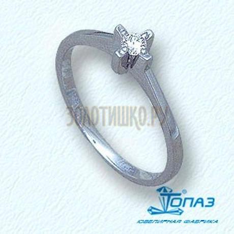Кольцо с бриллиантом Т301011027