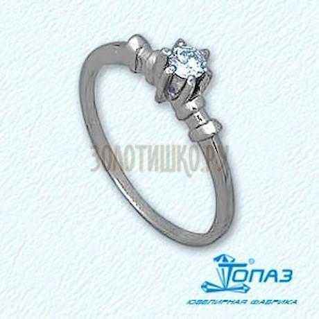 Кольцо с бриллиантом Т301011038