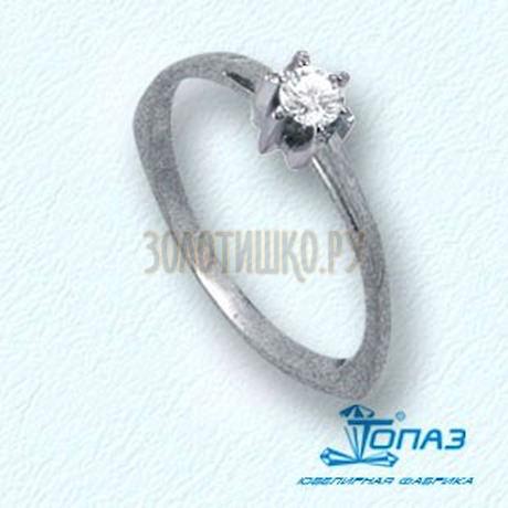 Кольцо с бриллиантом Т301011050