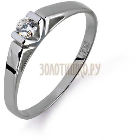Кольцо с бриллиантом Т301011057