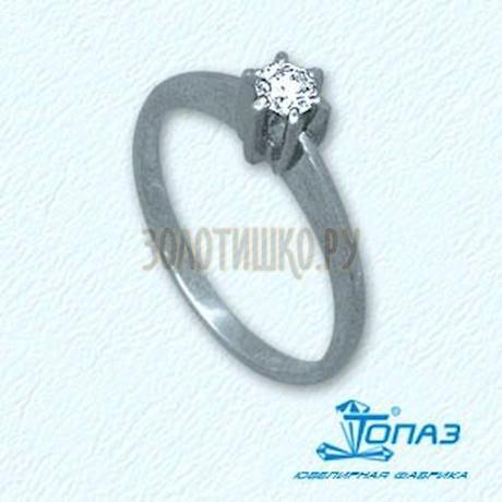 Кольцо с бриллиантом Т301011069