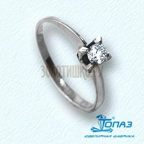 Кольцо с бриллиантом Т301011077