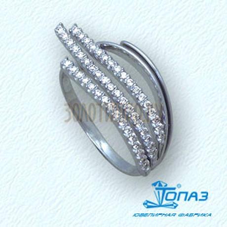 Кольцо с бриллиантами Т301011097-1