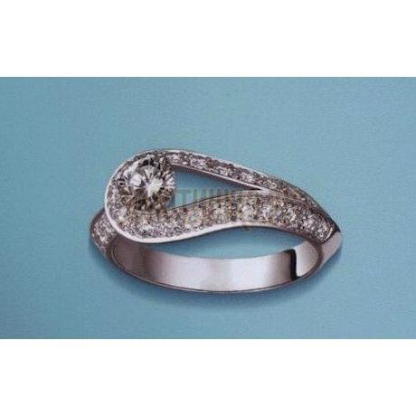 Кольцо с бриллиантами Т301011258-1