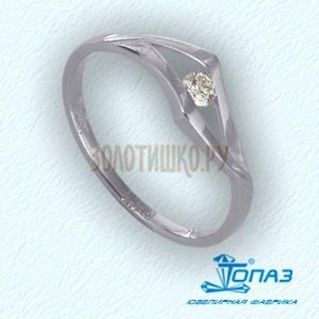 Кольцо с бриллиантом Т301011546