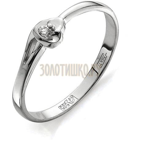 Кольцо с бриллиантом Т301011548