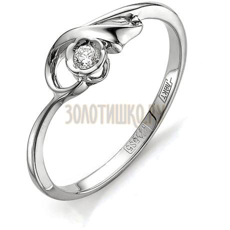 Кольцо с бриллиантом Т301011556