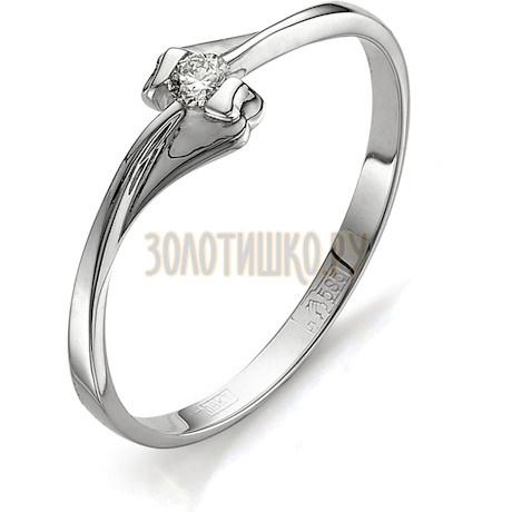 Кольцо с бриллиантом Т301011564