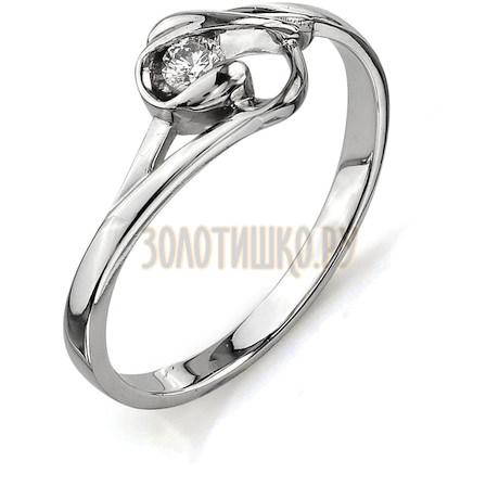 Кольцо с бриллиантом Т301011568
