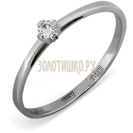Кольцо с бриллиантом Т301011570