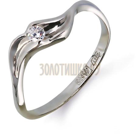 Кольцо с бриллиантом Т301011574