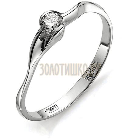 Кольцо с бриллиантом Т301011576