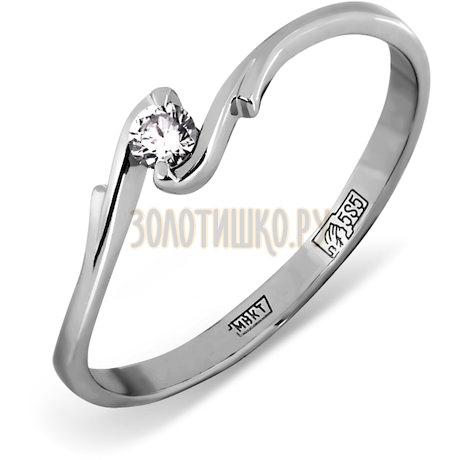 Кольцо с бриллиантом Т301011577