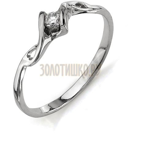 Кольцо с бриллиантом Т301011578