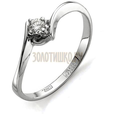 Кольцо с бриллиантом Т301011579