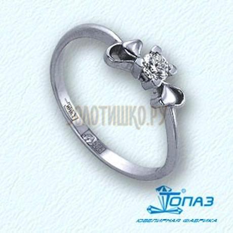 Кольцо с бриллиантом Т301011580
