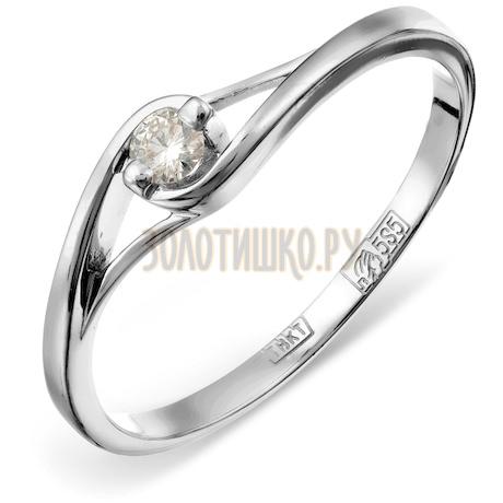 Кольцо с бриллиантом Т301011588