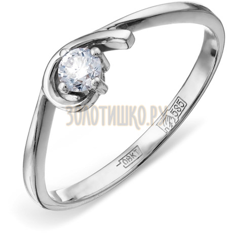 Кольцо с бриллиантом Т301011589