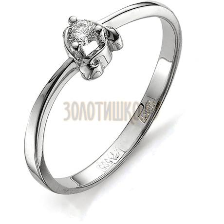 Кольцо с бриллиантом Т301011592