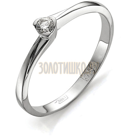 Кольцо с бриллиантом Т301011593