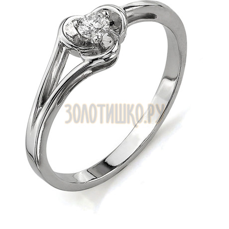 Кольцо с бриллиантом Т301011594