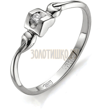Кольцо с бриллиантом Т301011598