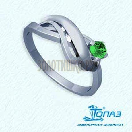 Кольцо с изумрудом Т301011612