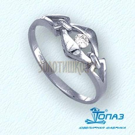 Кольцо с бриллиантом Т301011625