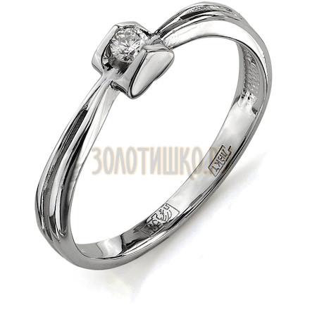 Кольцо с бриллиантом Т301011628