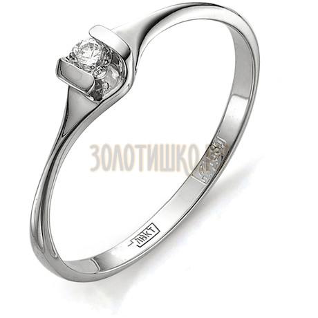 Кольцо с бриллиантом Т301011631