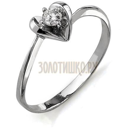 Кольцо с бриллиантом Т301011639