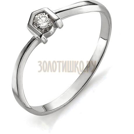 Кольцо с бриллиантом Т301011642