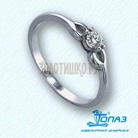 Кольцо с бриллиантом Т301011643