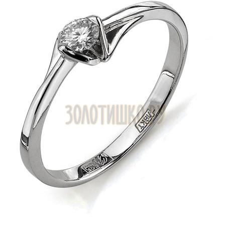 Кольцо с бриллиантом Т301011646