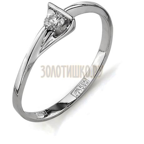 Кольцо с бриллиантом Т301011648