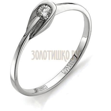 Кольцо с бриллиантом Т301011649