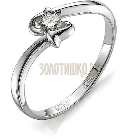 Кольцо с бриллиантом Т301011653