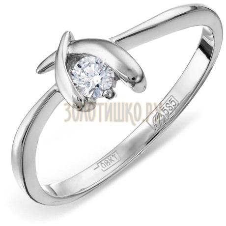 Кольцо с бриллиантом Т301011654
