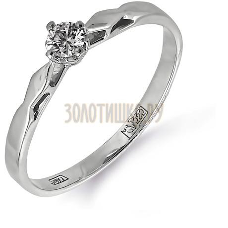Кольцо с бриллиантом Т301011663